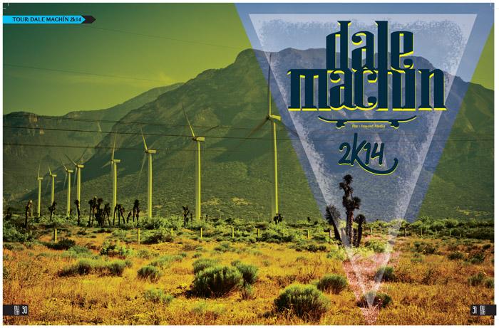 DALE MACHÍN 2K14 por INWARDMEDIA